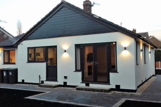 Thumbnail Detached bungalow for sale in Green Lane, Hadfield, Glossop