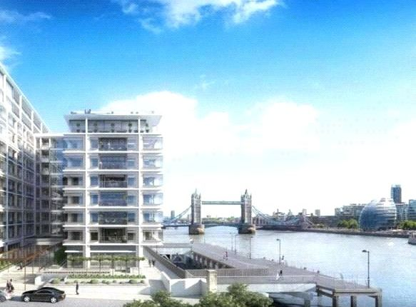 Thumbnail Flat to rent in Sugar Quay - Landmark Place, 1 Water Lane, London
