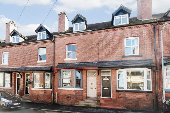 Thumbnail Terraced house for sale in Shirburn Road, Leek, Staffordshire