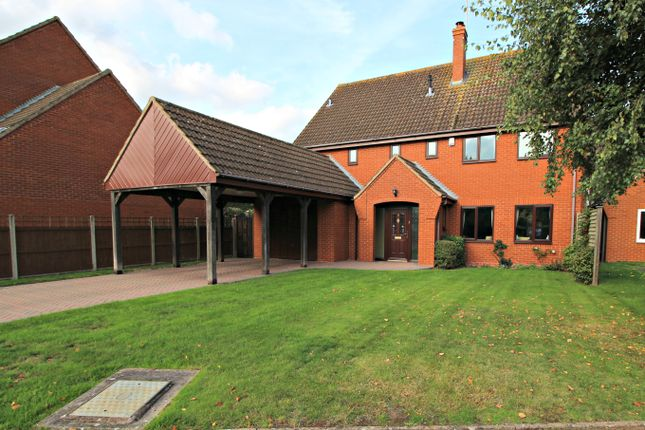 Thumbnail Detached house for sale in Woodbury Park, Holt Heath, Worcester
