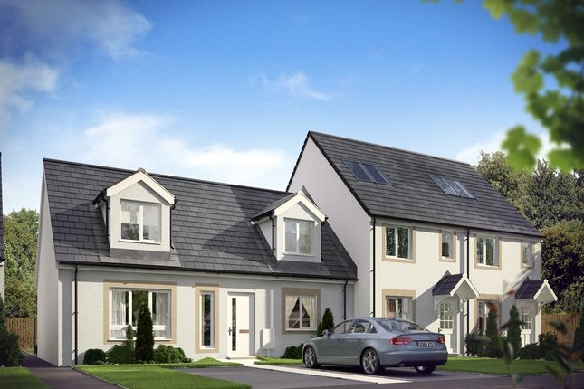 """Thumbnail End terrace house for sale in """"The Brodick At Dargavel """" at Barrangary Road, Bishopton"""