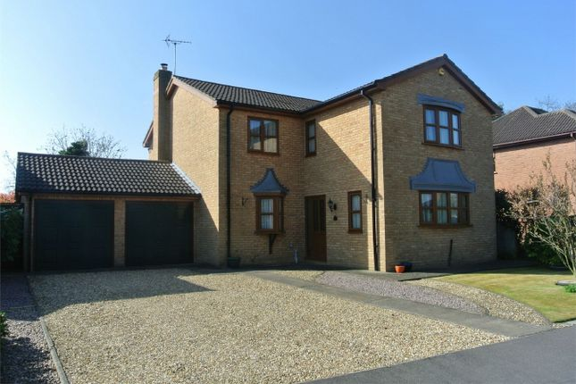 Thumbnail Detached house for sale in Hazelwood Drive, Bourne, Lincolnshire
