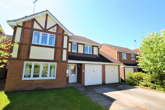 Thumbnail Detached house for sale in Swallow Close, Uttoxeter