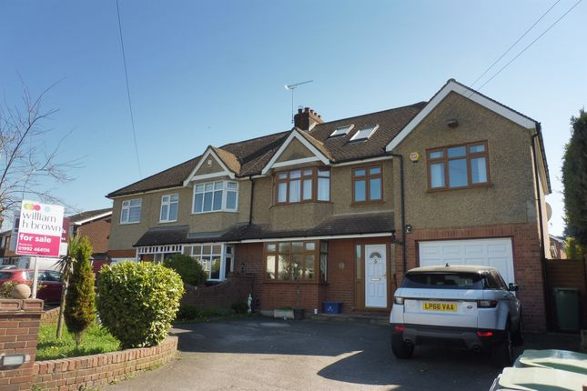 Thumbnail Semi-detached house for sale in North Street, Nazeing, Waltham Abbey