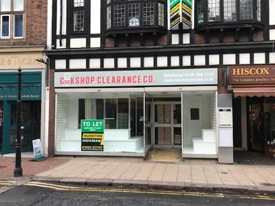 Thumbnail Retail premises to let in Ground Floor Shop, High Street, Burton Upon Trent, Staffordshire