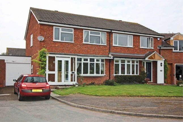 Thumbnail Semi-detached house for sale in Byron Road, Tamworth, Staffordshire