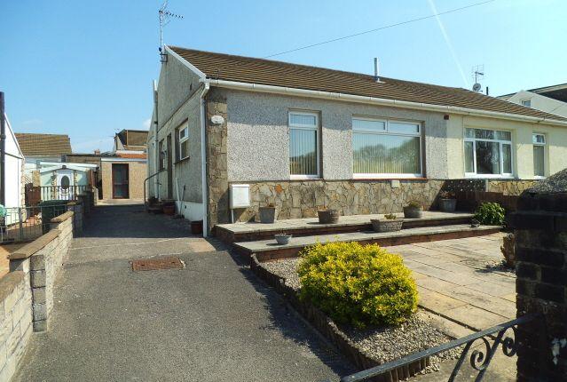 Thumbnail Semi-detached bungalow for sale in Highland Close, Sarn, Bridgend