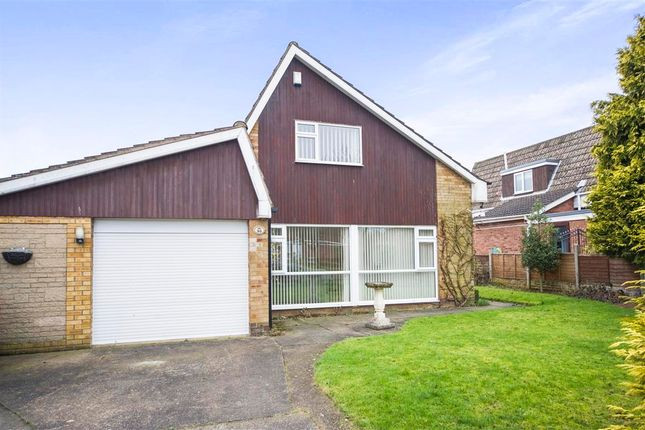 Thumbnail Detached bungalow for sale in St. Peters Avenue, Bottesford, Scunthorpe