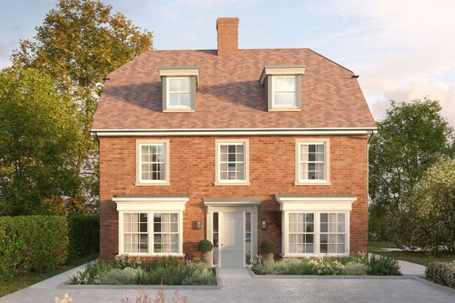 Thumbnail Detached house for sale in Campion, The Close At Meadowlands, Stockbridge Road, Winchester