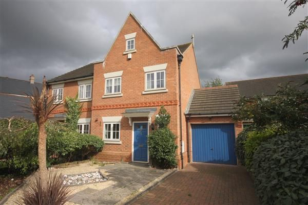 Thumbnail Semi-detached house to rent in Winston Avenue, Kings Hill, West Malling