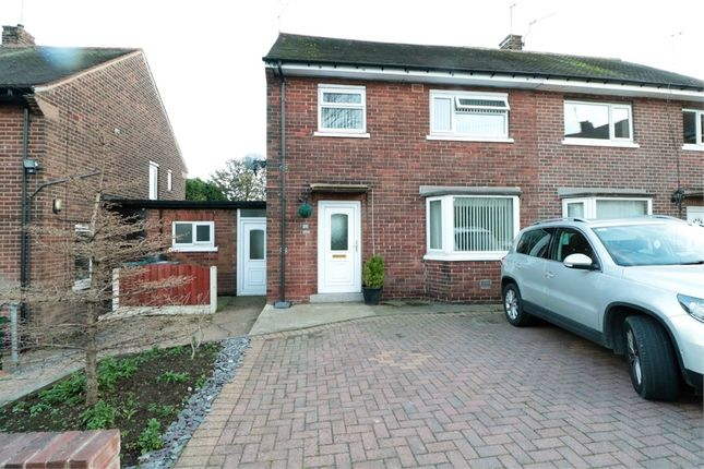 Thumbnail Semi-detached house for sale in 29 Rig Drive, Swinton, Mexborough, South Yorkshire, uk