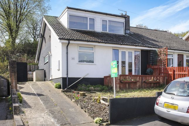 Thumbnail Semi-detached bungalow for sale in Westwood Drive, Treharris