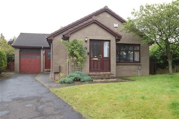 Thumbnail Detached bungalow for sale in Dunsyre Place, Summerston