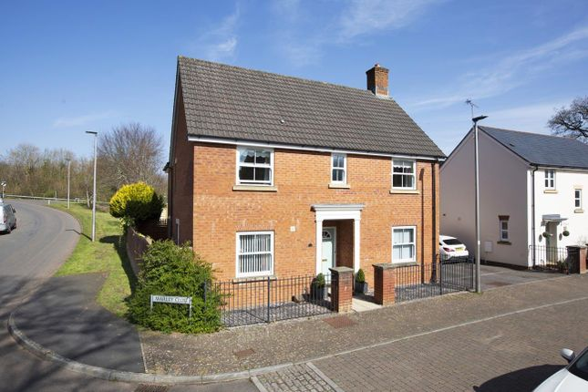 Detached house for sale in Marley Close, Tiverton