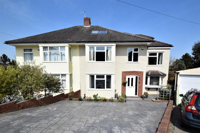 Thumbnail Semi-detached house for sale in Briarwood, Westbury-On-Trym, Bristol