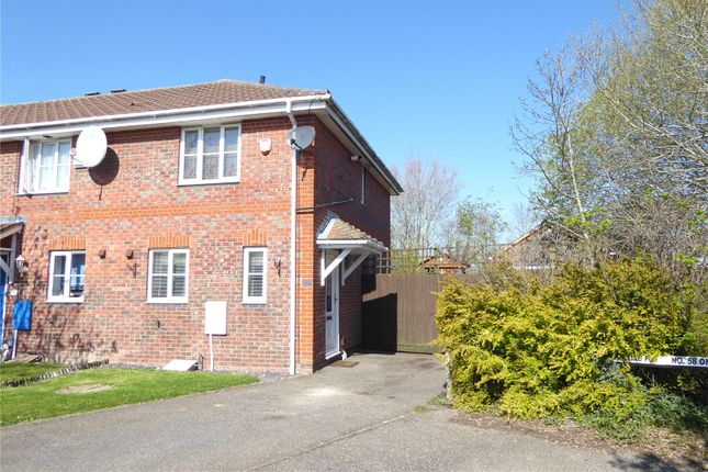 2 bed end terrace house to rent in Arnald Way, Houghton Regis, Dunstable LU5