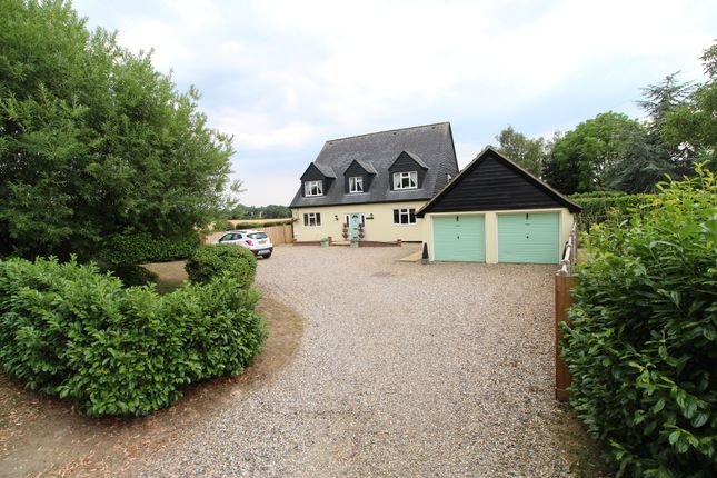 Thumbnail Detached house for sale in Thelnetham Road, Hopton, Diss