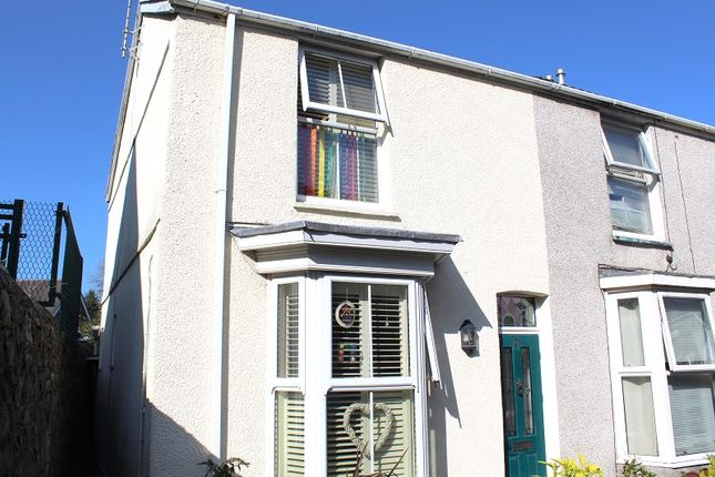 Thumbnail End terrace house for sale in Castle Street, Mumbles, Swansea