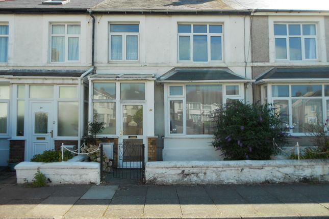Thumbnail Terraced house to rent in Poplar Avenue, Porthcawl