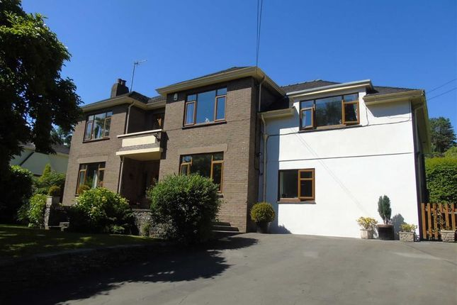 Thumbnail Detached house for sale in Cwmbach Road, Furnace, Llanelli