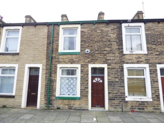 Front of Manor Street, Nelson, Lancashire BB9