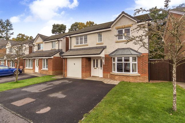 Thumbnail 4 bed detached house for sale in Troon Avenue, Dundee, Angus