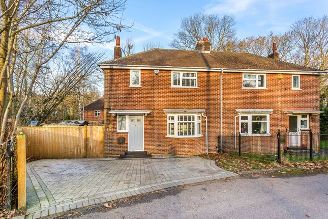 Thumbnail Semi-detached house for sale in Fort Road, Halstead, Sevenoaks