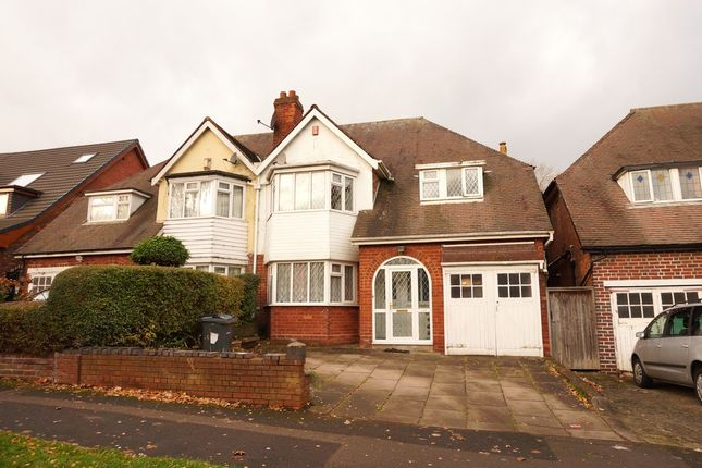 Thumbnail Semi-detached house to rent in Sandwell Road, Handsworth, Birmingham