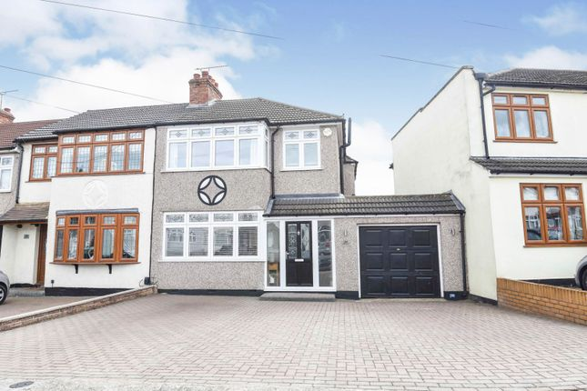3 bed semi-detached house for sale in Heather Way, Rise Park RM1