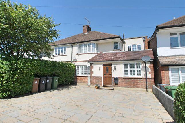 Thumbnail Semi-detached house for sale in Langmead Drive, Bushey Heath, Bushey