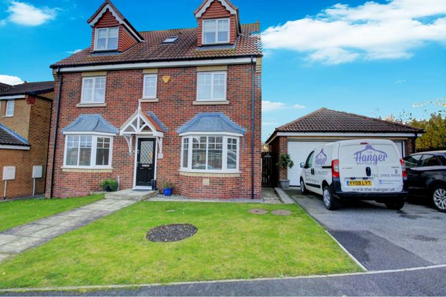 Thumbnail Detached house for sale in Ladymantle Close, Hartlepool