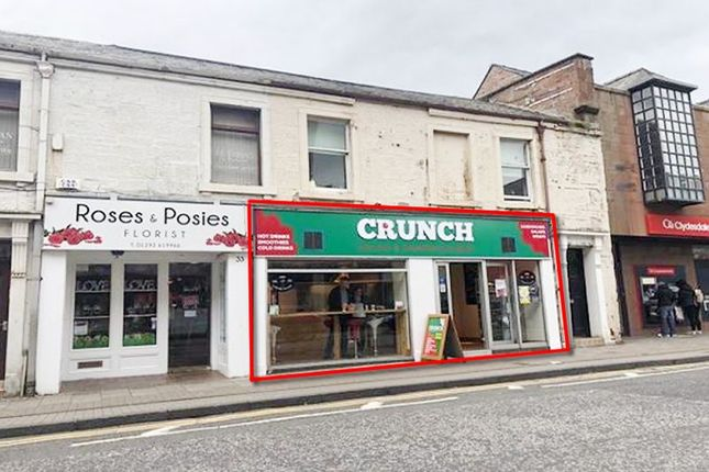 Thumbnail Commercial property for sale in 35-37, Alloway Street, Ayr KA71Sp