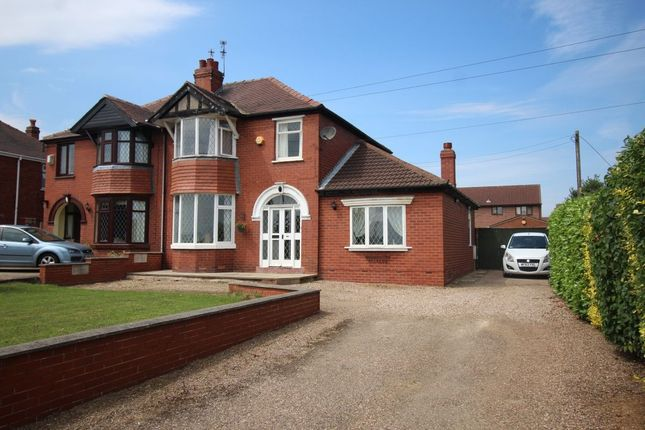 Thumbnail Semi-detached house for sale in Melton Road, Sprotbrough, Doncaster