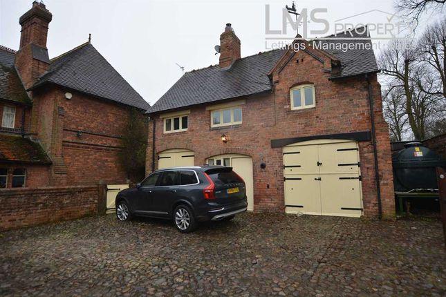 Thumbnail Flat to rent in Ruloe House Coach House, Bag Lane, Crowton