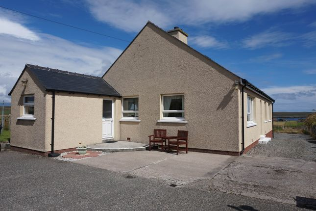 Thumbnail Detached bungalow for sale in Back, Isle Of Lewis