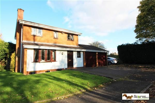 Thumbnail Detached house for sale in Moatside Close, Pelsall, Walsall