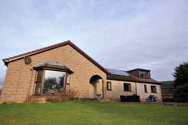 Thumbnail Detached bungalow for sale in Cuminestown, Turriff