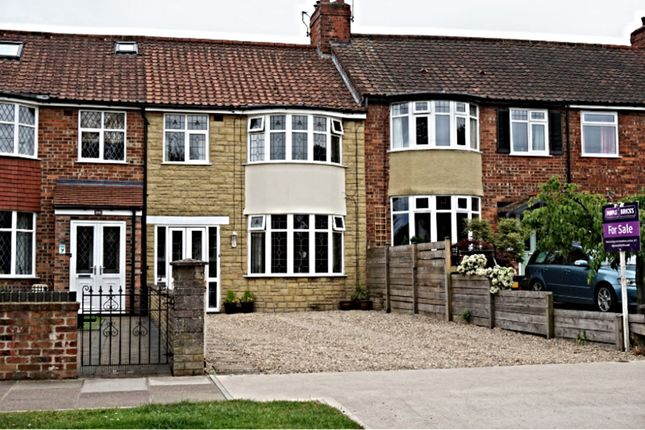 Thumbnail Terraced house for sale in Hamilton Drive, York