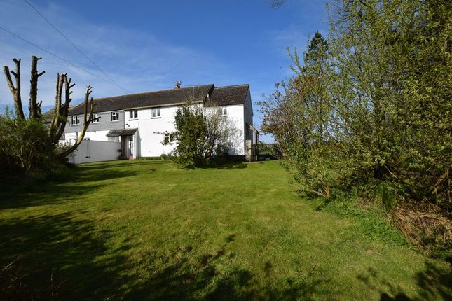Thumbnail Semi-detached house for sale in Treneglos, Launceston