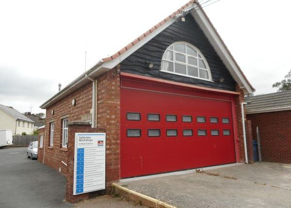 Thumbnail Commercial property for sale in Former Fire Station, 4-5 Station Road, Budleigh Salterton, Devon