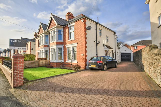 Thumbnail Semi-detached house for sale in Bishops Road, Whitchurch, Cardiff
