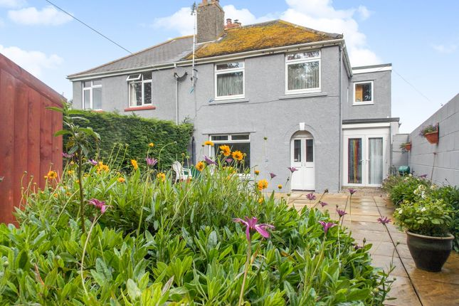 Thumbnail Semi-detached house for sale in Penvale Villas, St. Gluvias, Penryn