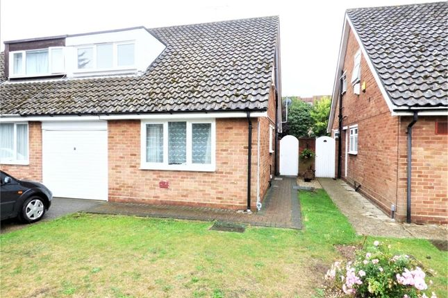 Thumbnail Semi-detached house to rent in Cheviot Close, Harlington, Hayes, Middlesex