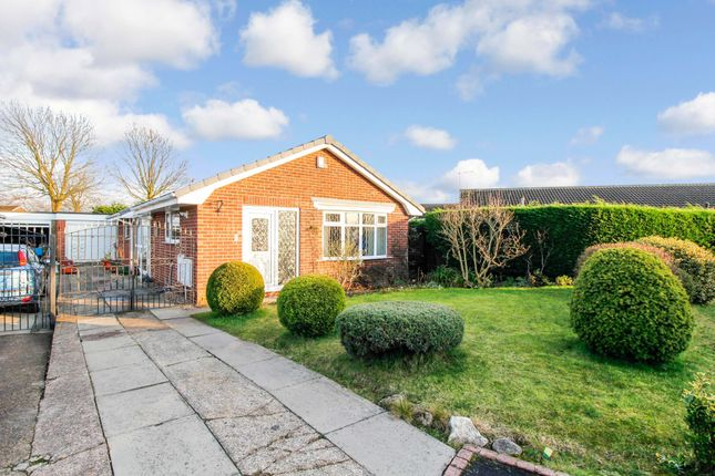 Thumbnail Detached bungalow for sale in Ayots Green, Dunscroft, Doncaster