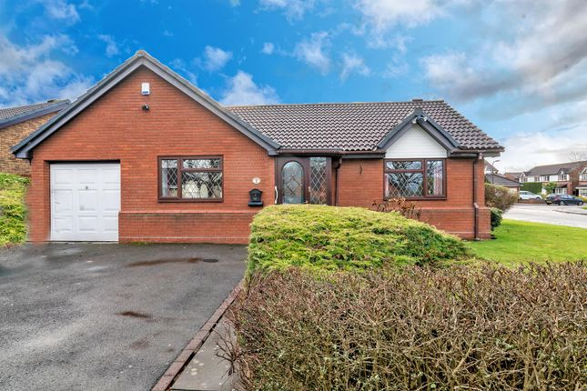 Thumbnail Detached bungalow for sale in Carnoustie Close, Bloxwich/Turnberry, Walsall