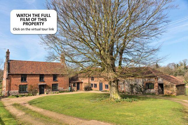 Thumbnail Farmhouse for sale in Lamas, Norwich