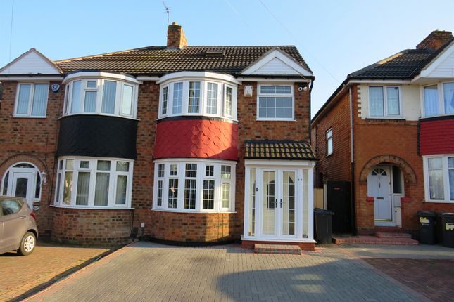 Thumbnail Semi-detached house for sale in Moat Lane, Yardley, Birmingham