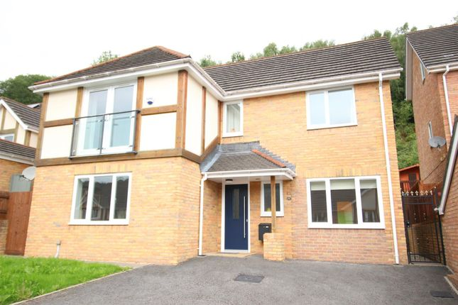 Thumbnail Detached house for sale in Woodside Walk, Wattsville, Cross Keys, Newport