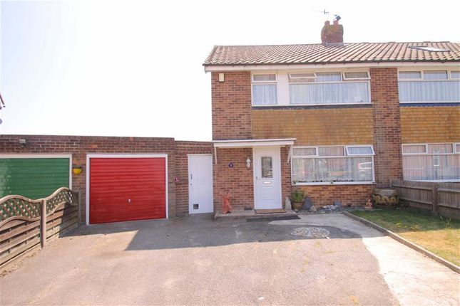 Thumbnail Semi-detached house for sale in Angela Close, Bexhill-On-Sea, East Sussex