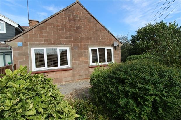 Thumbnail Semi-detached bungalow for sale in The Green, Locking, Weston-Super-Mare, North Somerset.